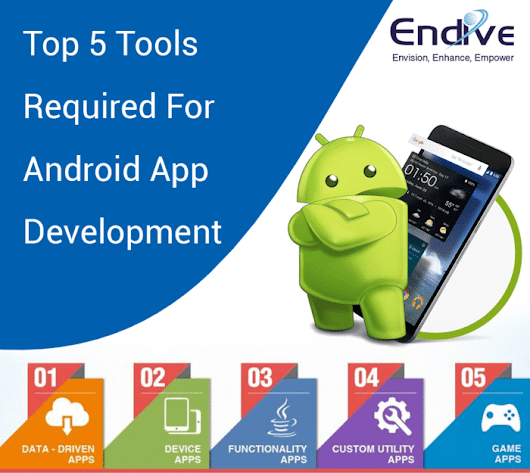 Top 5 Tools Required For Android App Development • kavin thomas
