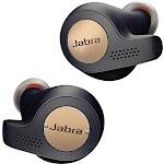 Jabra - Elite Active 65t True Wireless Earbud Headphones - Copper Navy