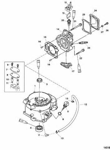 Mercury Marine 6 HP (4-Stroke) Cylinder Block Parts