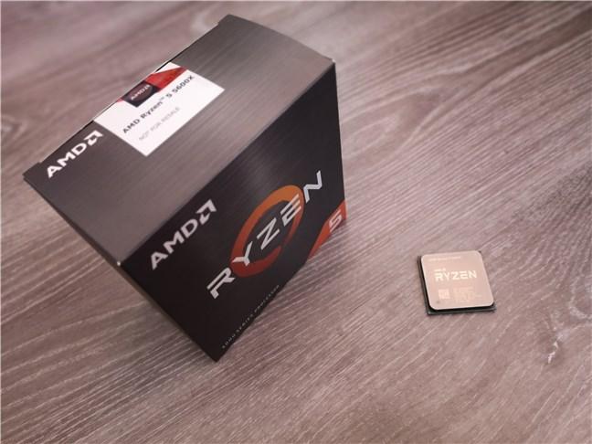Desembalaje del procesador AMD Ryzen 5 5600X