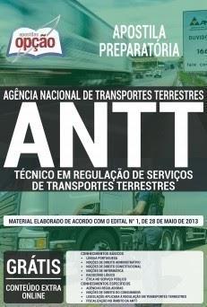 Apostila ANTT - Técnico em Regulação, Analista Administrativo