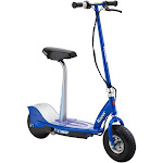 Razor E300S Adult 24V High-Torque Motor, Electric Powered Scooter w/ Seat, Blue by VM Express