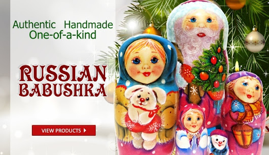 Nesting Dolls | Russian Gifts | Lacquer Boxes | Wooden Ornaments