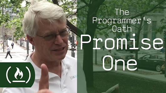 The Programmer's Oath – freeCodeCamp