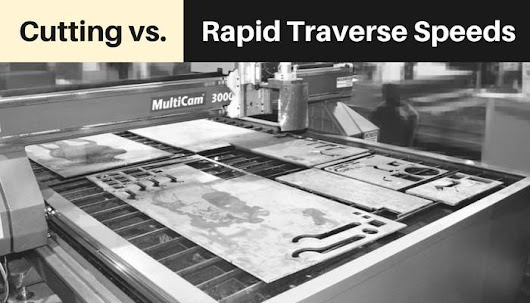 Cutting vs. Rapid Traverse Speeds