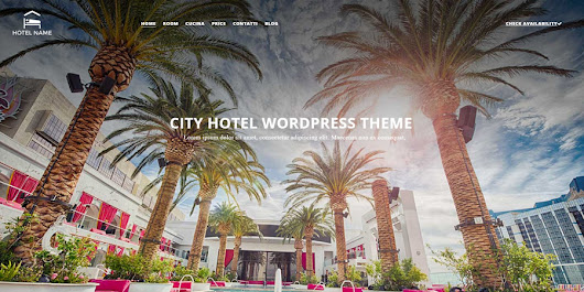City-Hotel Template Wordpress per Hotel Gratis - Web Domus Italia