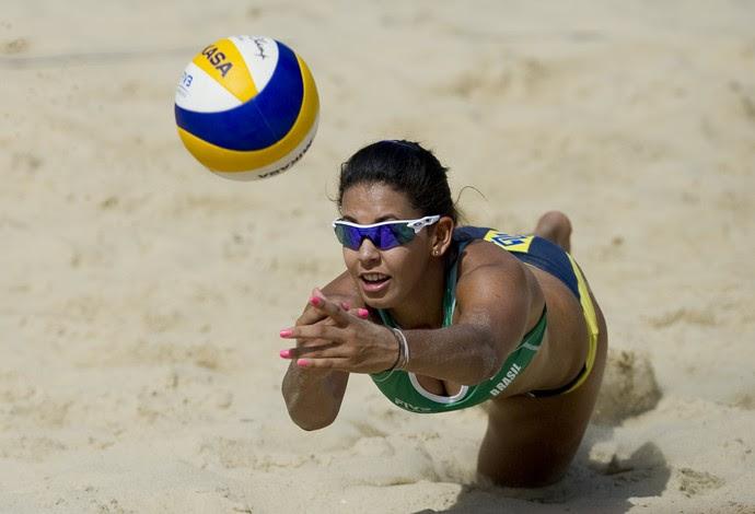 Duda vôlei de praia (Foto: Divulgação/FIVB)