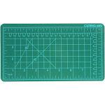 Universal Tool DIY Craft Self Healing Cutting Mat Hobby Tool Green 5 x 9 Inch