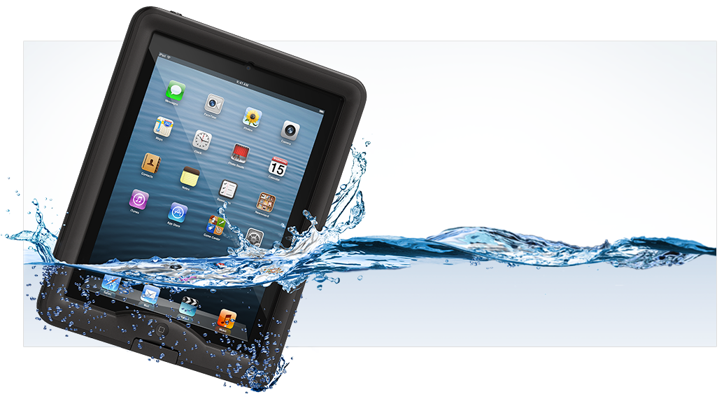 LifeProof nüüd Apple iPad Case - Naked touch experience, LifeProof confidence.