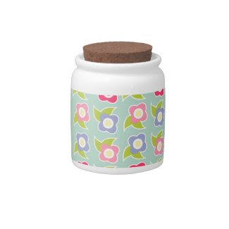Spring Fling Candy Jar zazzle_candyjar