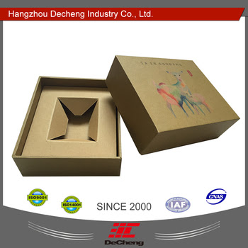 2016 China Paper Gift Box Packaging View Paper Box Decheng