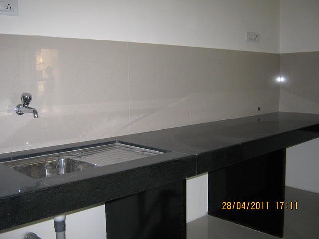 Sink and Kitchen Platform in  Sangria Towers at Megapolis Hinjewadi Phase 3, Pune