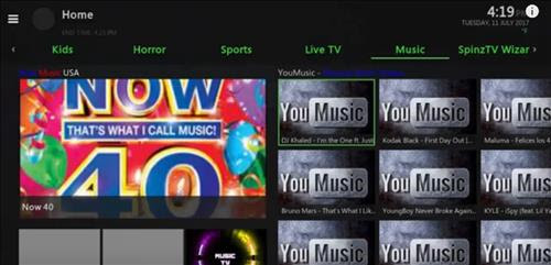 screenshots Spinz TV Reborn Build pic 3