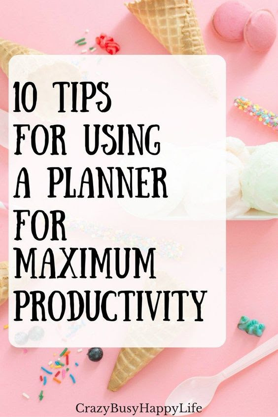 10 Tips for Using a Day Planner for Maximum Productivity -