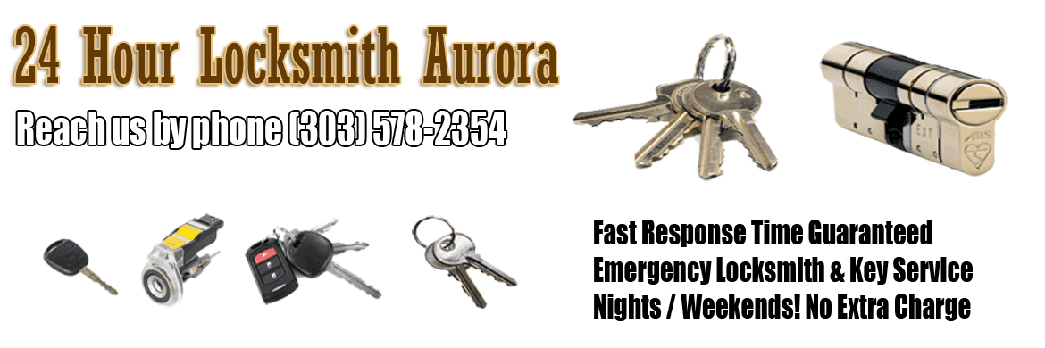 24 hour Locksmith Aurora CO Banner