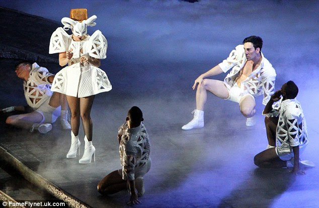 Nauseous? Lady Gaga apologised to her fans after having to leave the stage to vomit mid-performance