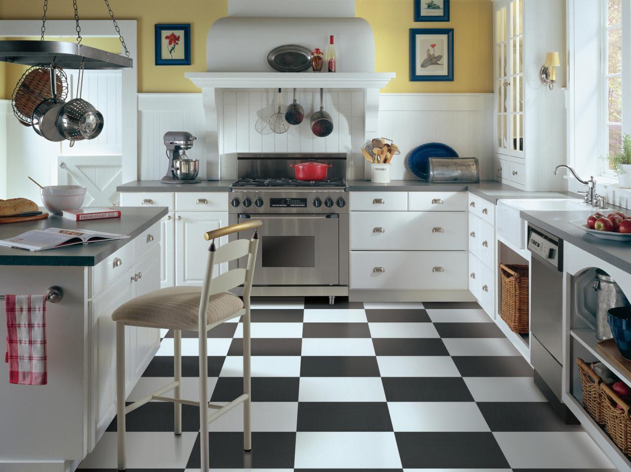 Vinyl Flooring in the Kitchen | HGTV