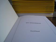 New from TAXT! David Brazil's SPY WEDNESDAY