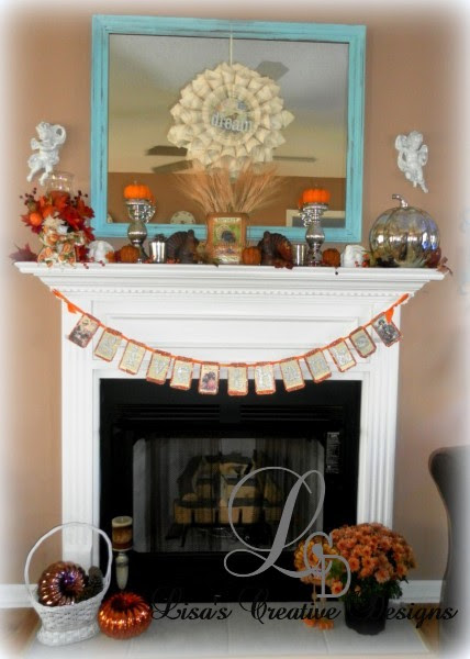 Decorating For Thanksgiving...A Home Tour - Lisa's Creative Designs