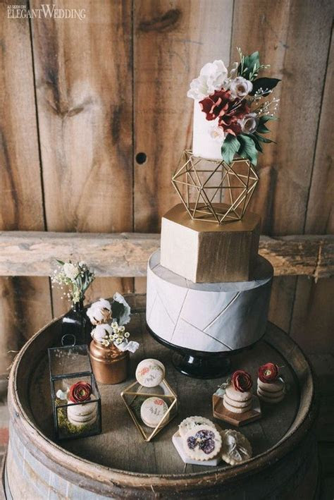 40  Chic Geometric Wedding Ideas for 2018 Trends   Page 5