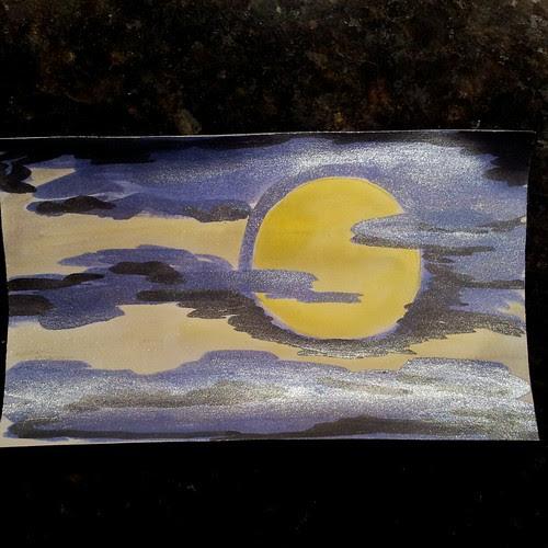full moon - icad 3 by Jaime Haney