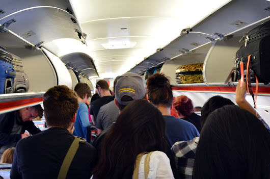 Passengers boarding airplanes: we're doing it wrong