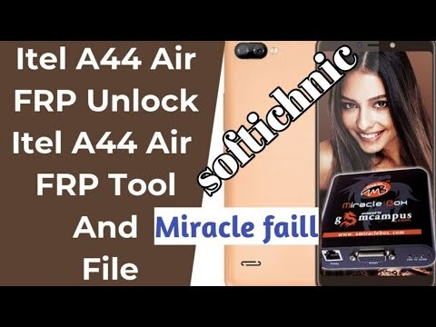 itel A44 air frp remove without any box done by softichnic