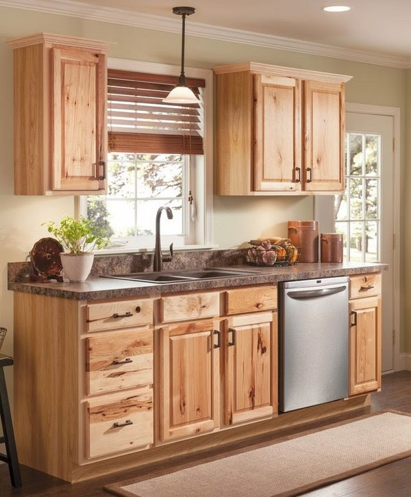 40 ideas for naturally beautiful hickory cabinets in the ...