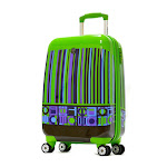 Olympia USA ART-8221-KK 21 in. Princess Carry on Spinner Green