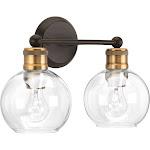 Progress Lighting-P300050-020-Hansford - Two Light Bath Vanity