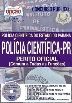 Apostila PERITO OFICIAL Polícia Científica - PR (COMUM A TODAS AS FUNÇÕES)
