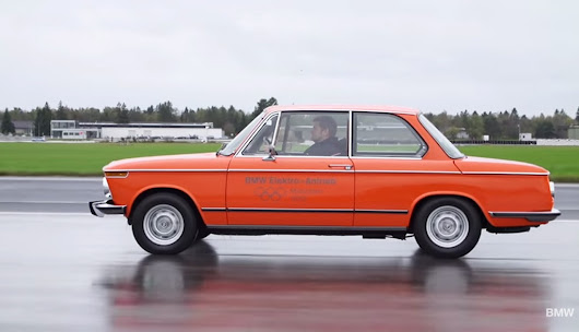 1972 BMW 1602e: BMW's First Electric Car Detailed In New Video