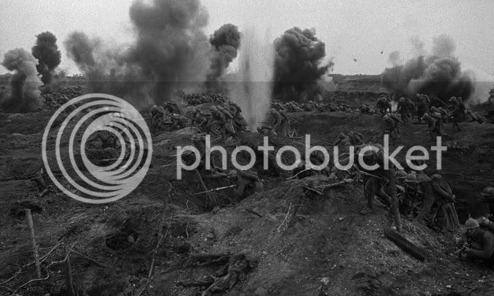 La Gran Guerra, un siglo despues: bibliografía y filmografía recomendadas - Fotograma de Senderos de gloria