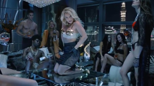Video: Britney Spears Cut Out Sexiest 'Work B***h' Scenes