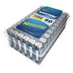Rayovac Mercury-Free Alkaline Battery, AA, 1.5 V, 60/Pack (RAY81560PPK)