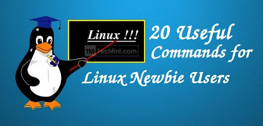 Switching From Windows to Nix or a Newbie to Linux - 20 Useful Commands for Linux Newbies