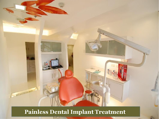 Painless dental implant treatment