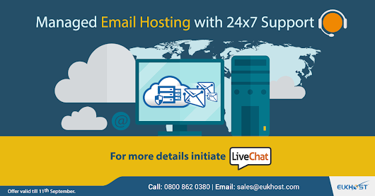 eUKhost Managed Email Hosting with 24x7 Support - eUKhost Official Web Hosting Forum
