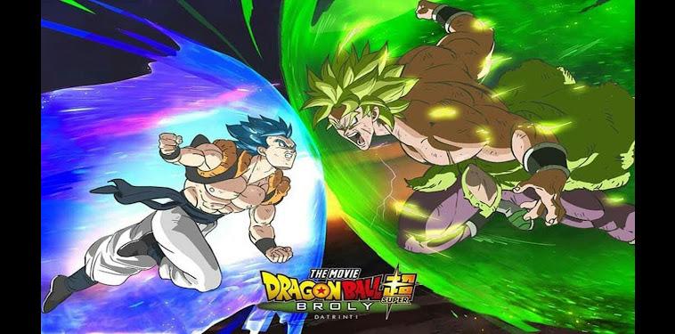 Dragon Ball Super Broly Gogeta Super Saiyan Blue