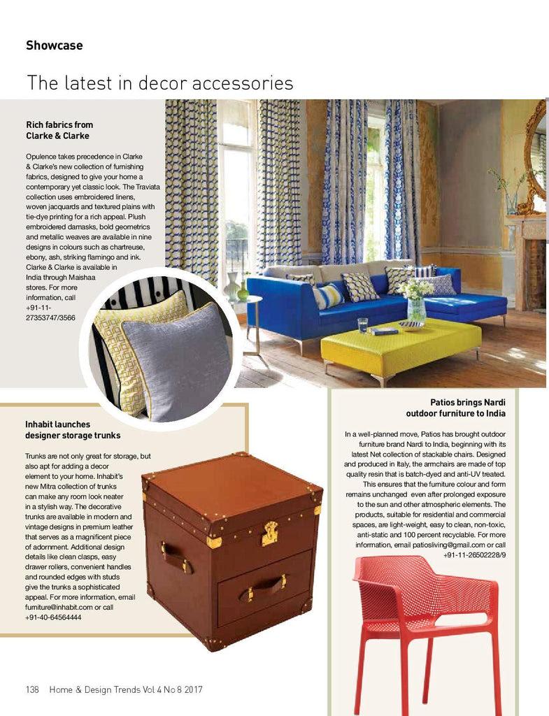 Patios Brings Nardi Home Trends Magazine January 2017 Patios