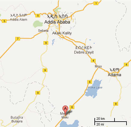 Location for new Addis Airport