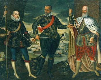 Don Juan, Marc'Antonio Colonna, and Doge Sebastian Venier