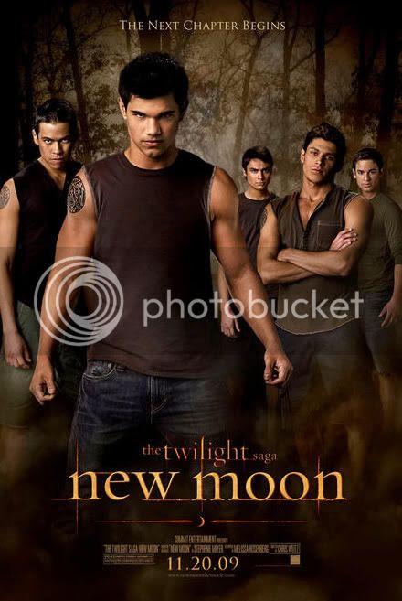 poster luna nueva hombres lobo