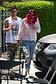 bella thorne grabs lunch with max ehrich 04