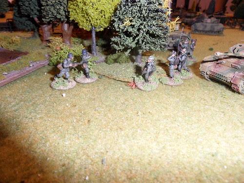 Platoon command takes stock.JPG
