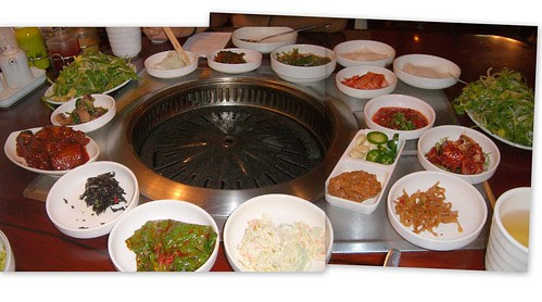 Korean BBQ in Korea Town LA