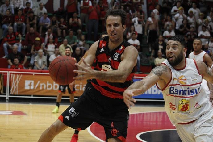 Flamengo x Caxias do Sul - NBB basquete - Marcelinho (Foto: Gilvan de Souza / Flamengo)