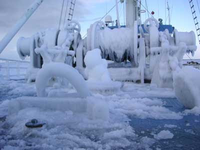 Winterisation For Cold Climate Operations In The Offshore Industry & DNV-OS-A201