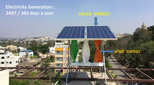 Solar Wind Hybrid Energy : Bangalore | Hybrid Power system | Lavancha