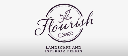 New Work: Flourish Logo - Once Blind Studios